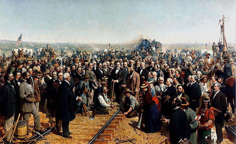 The Last Spike 1869