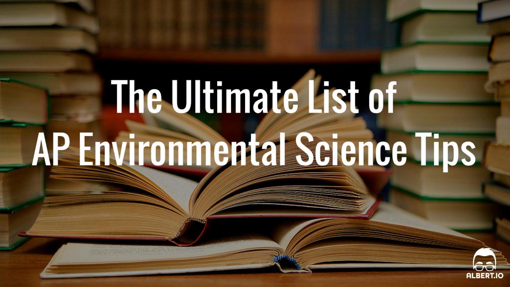 ap essays environmental science