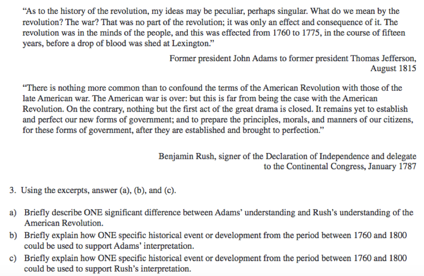 Practice ap government essay questions