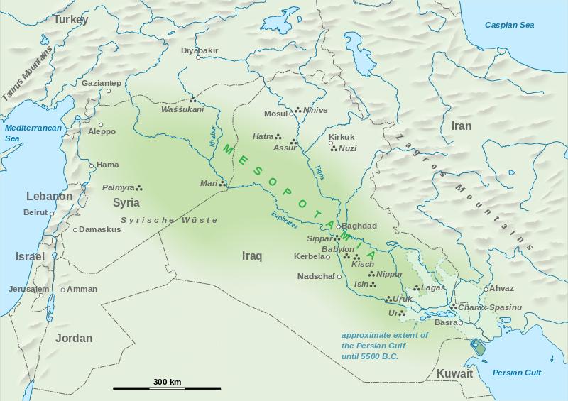 Mesopotamia AP World History Crash Course Review – Mesopotamia Map Worksheet