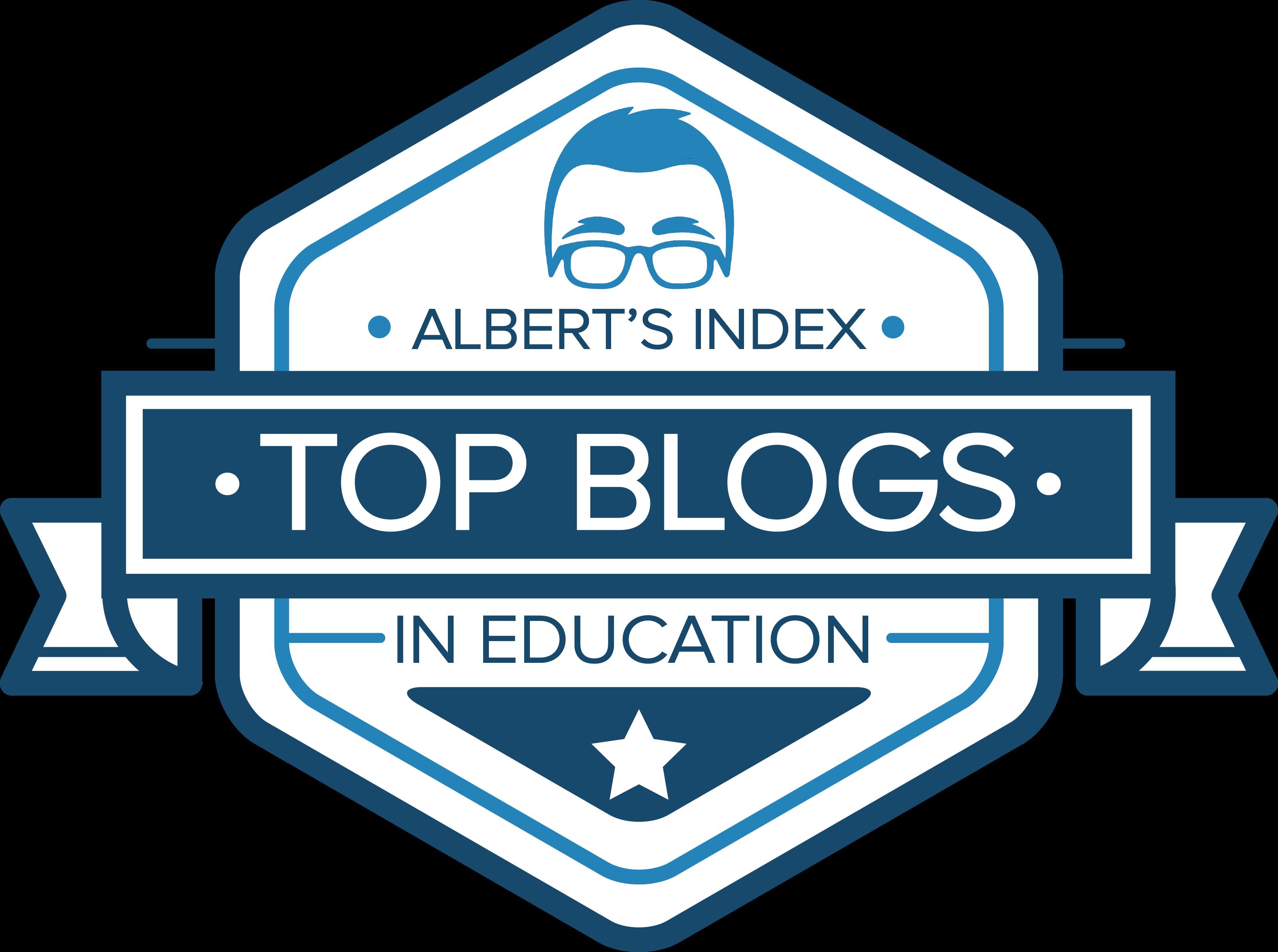 4db0dfdb829 Albert Index  Top Education Blogs of 2017